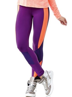 CAJUBRASIL 6232 Sexy Leggings  Emana Cyclist Eggplant