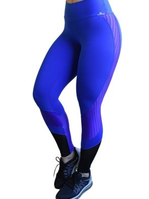 CAJUBRASIL 6269 Sexy Leggings Brazilian Training Blue