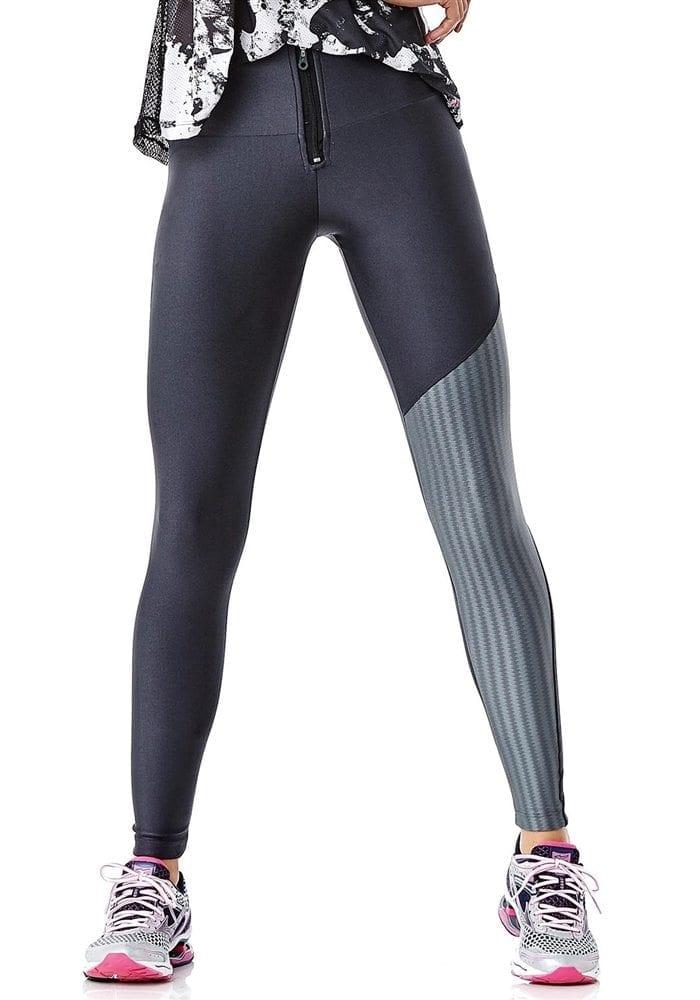 CAJUBRASIL 6250 Sexy Leggings Brazilian Effect Zipper