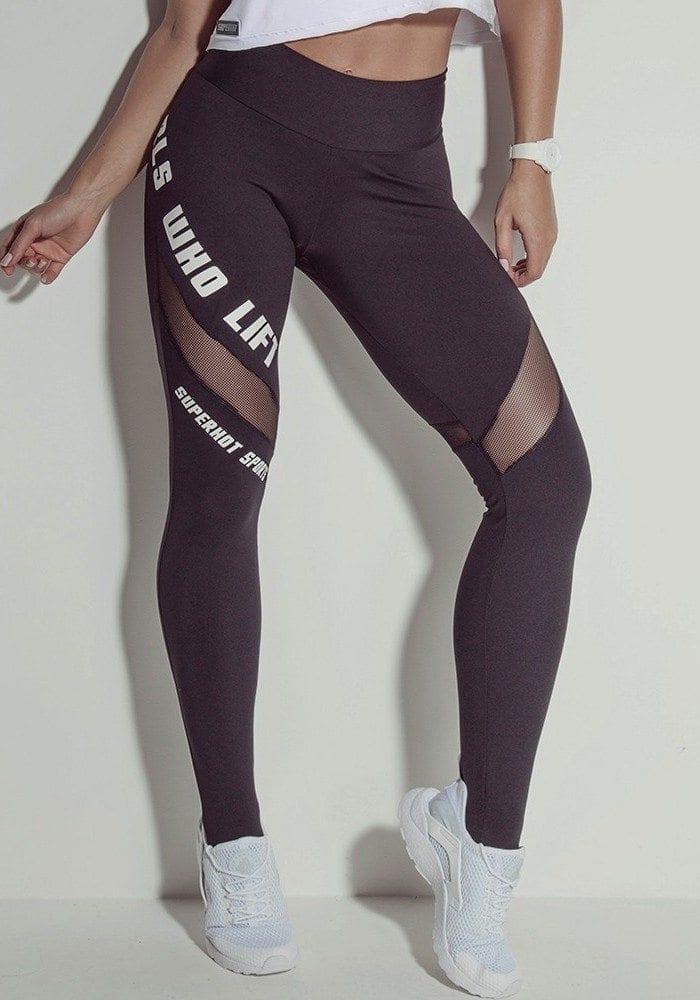 SUPERHOT Sexy Workout Leggings Cute Yoga Pants CAL640 GIRLS WHO LIFT
