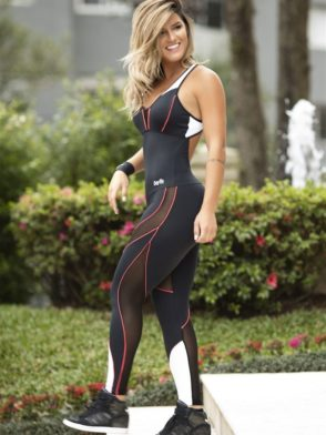 OXYFIT Jumpsuit SHOW – Sexy Rompers, Cute Workout 1-Piece