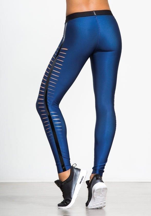 ULTRACOR Leggings Slash Navy Sexy Workout Clothes Yoga Leggings
