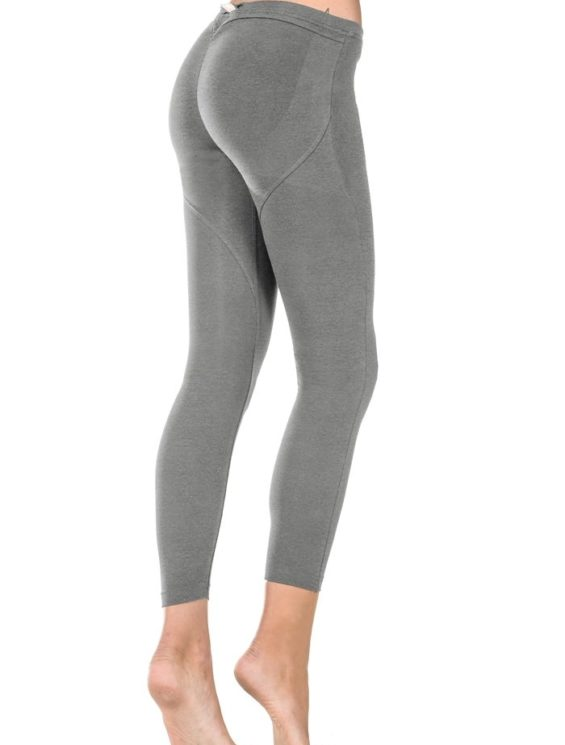 FREDDY WR.UP SHAPING EFFECT – LOW WAIST – 7/8 LEGGINGS SCRUNCHY BUTT Gray