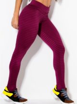 CANOAN  Leggings 11231 Burgundy Sexy Workout Pants
