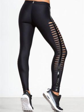 ULTRACOR Leggings Slash Black Sexy Workout Clothes Yoga Leggings