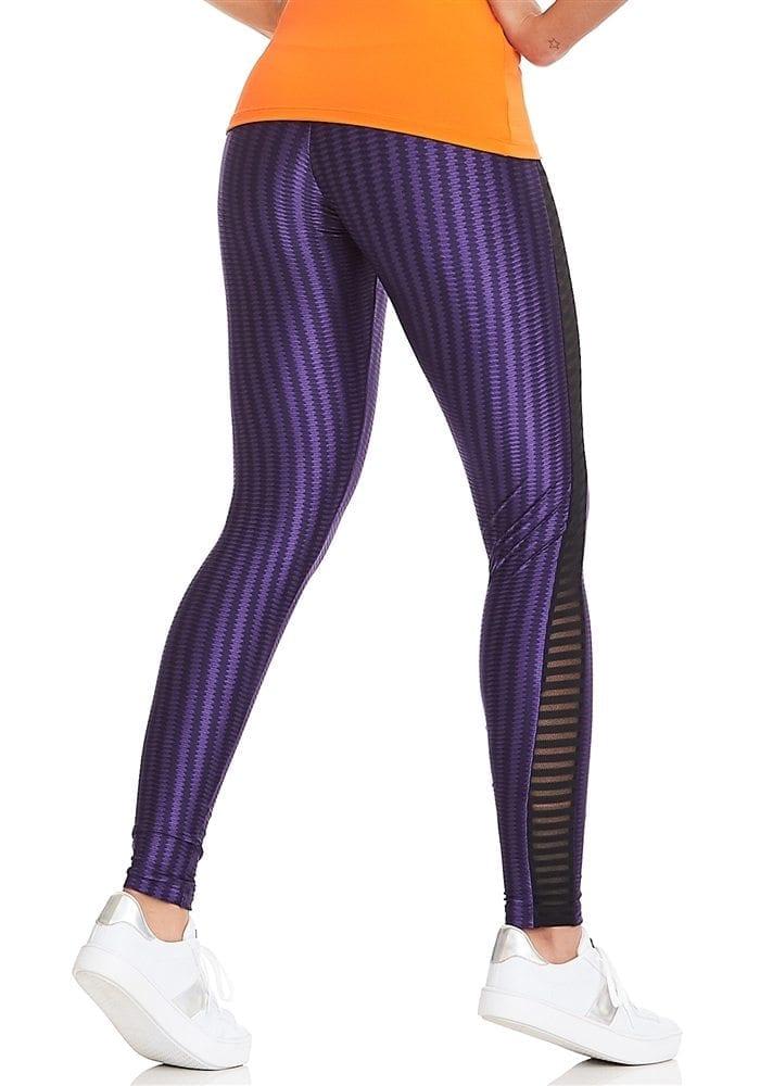 CAJUBRASIL Leggings 8120 Purple Sexy Leggings Brazilian