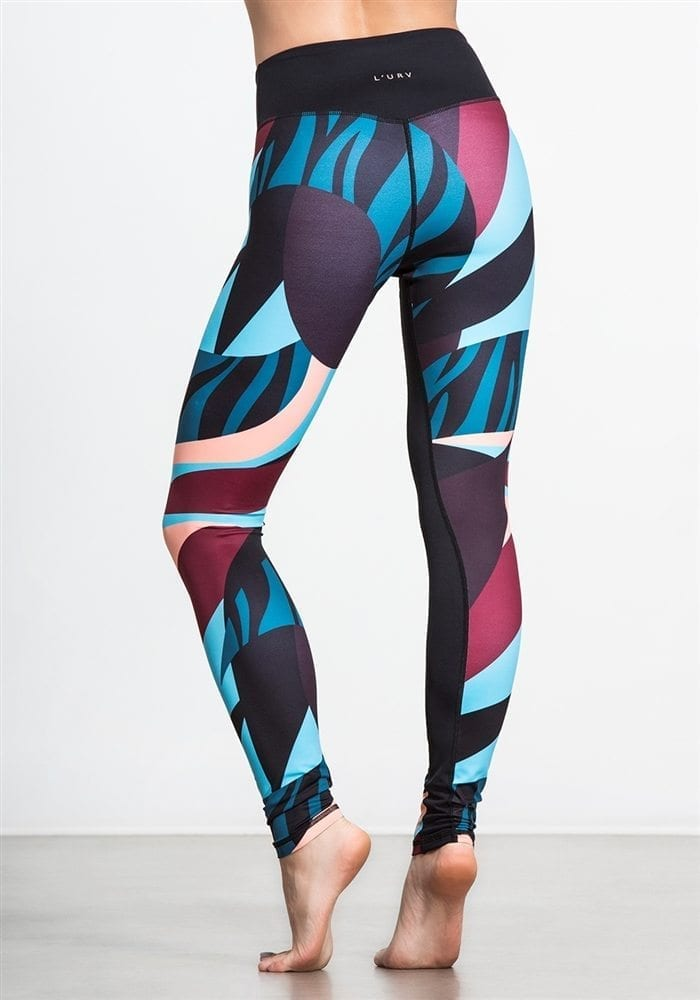 L'URV Leggings Angel Baby Red Multi Sexy Workout Tights