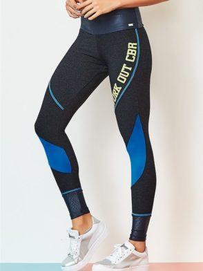 CAJUBRASIL Leggings 9065 Workout BK Sexy Leggings Brazilian