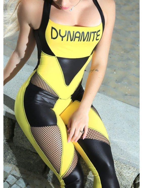 DYNAMITE Brazil Jumpsuit ML2012 Explode-Sexy One-Piece Romper