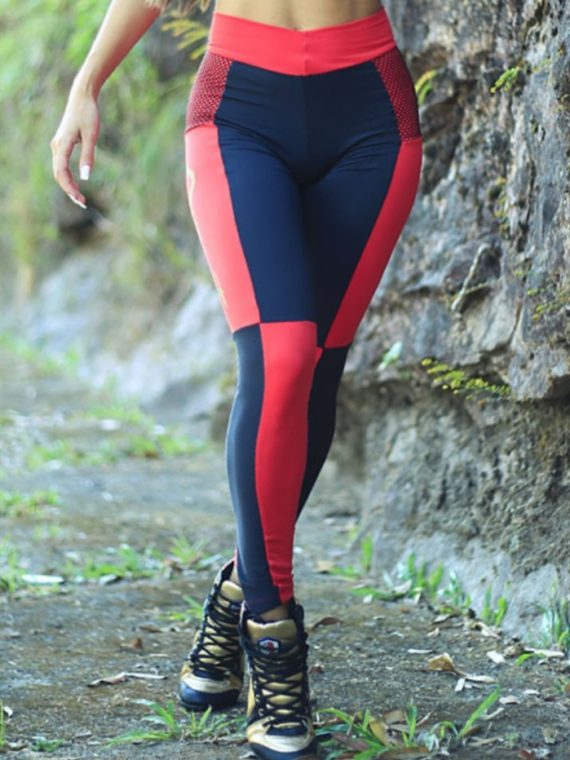 DYNAMITE Leggings Xadrez L979-4 Sexy Workout Leggings