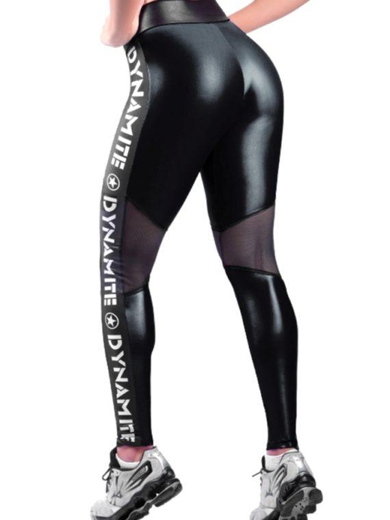 DYNAMITE Leggings Lustrous Black L994-1 Sexy Workout Leggings