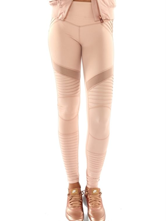 L'URV Leggings Fever Pitch Moto Leggings Blush Sexy Workout Tights
