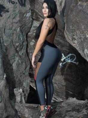 DYNAMITE Brazil Jumpsuit ML2012 Black Widow-Sexy One-Piece Romper