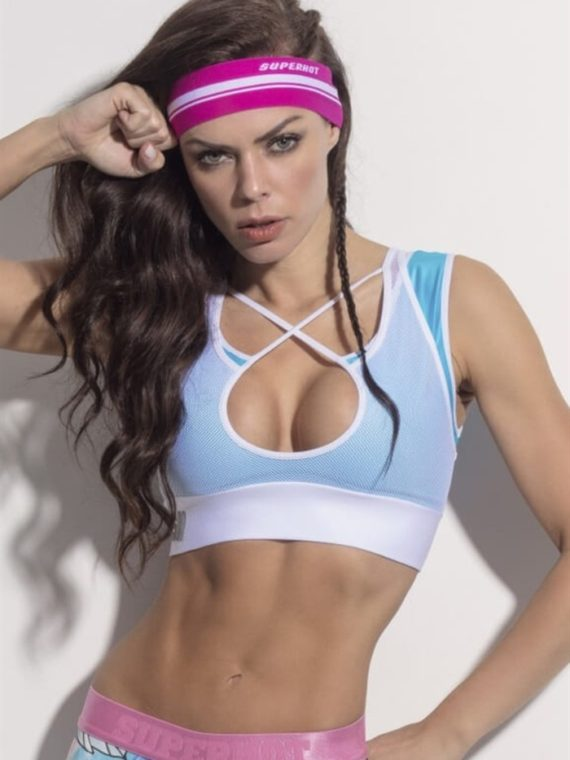 SUPERHOT Bra TOP1144 – Sexy Workout Tops Cute Yoga Sport Bra