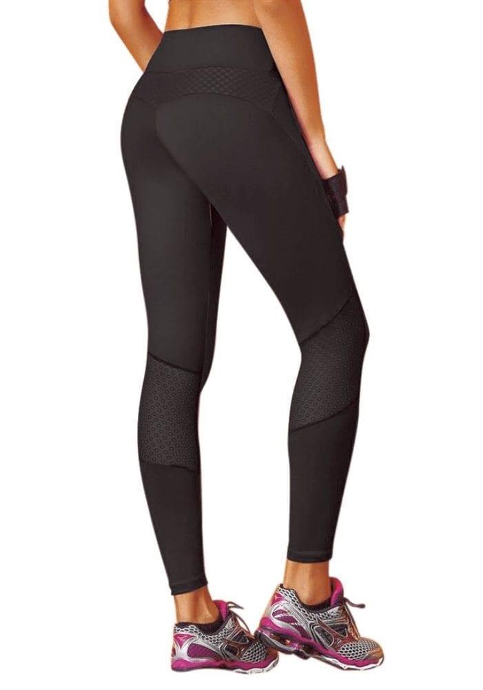 CAJUBRASIL 7526 Sexy Leggings Brazilian Stylist Black