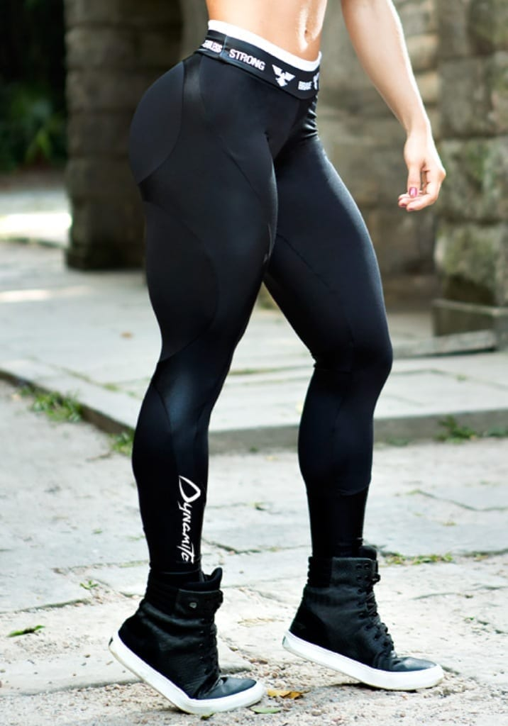 Black Booty In Leggings-9170