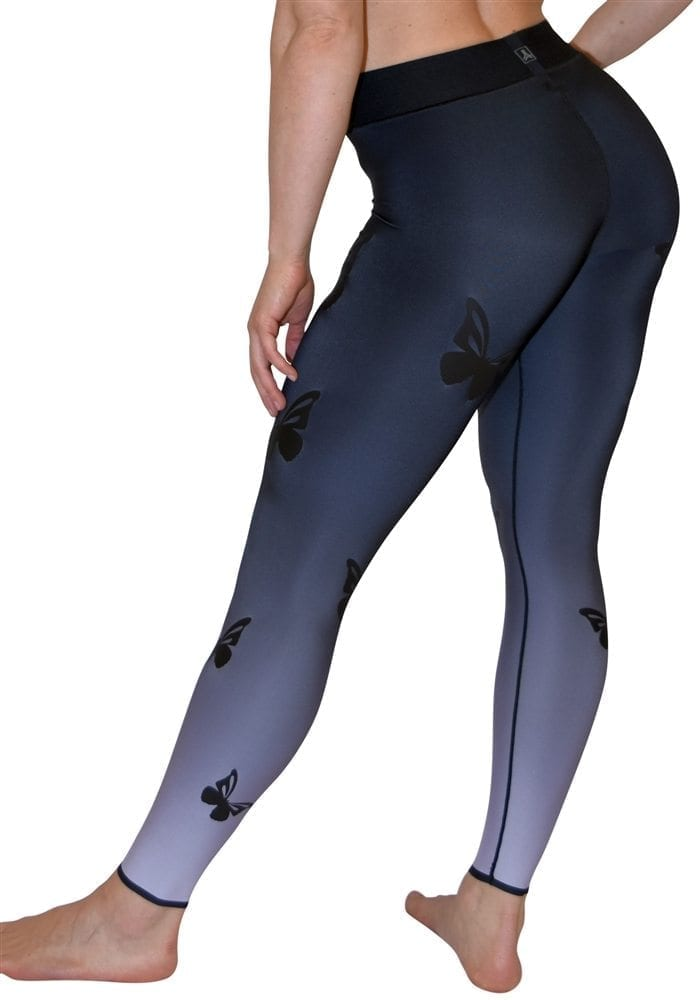 ULTRACOR Leggings High Lux Butterfly Matte Leggings Sexy Workout Clothes Yoga Leggings