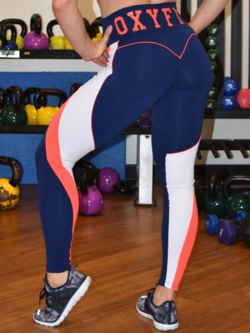 OXYFIT Leggings Motion 14467 – Sexy Workout Leggings Navy