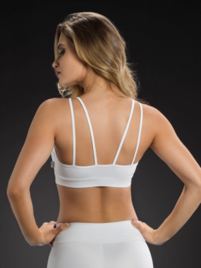 OXYFIT Bra Top 27086 Looped - Sexy Sports Bras- White