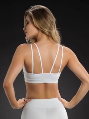 OXYFIT Bra Top 27086 Looped - Sexy Sports Bras- White