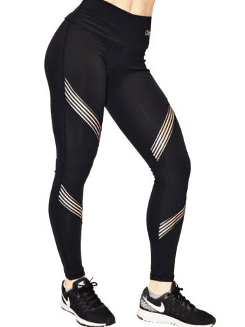OXYFIT Leggings 64090 Hollywood- Sexy Workout Leggings Black