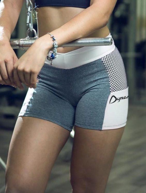 DYNAMITE Shorts SH979 Chess Blend -Sexy Shorts White
