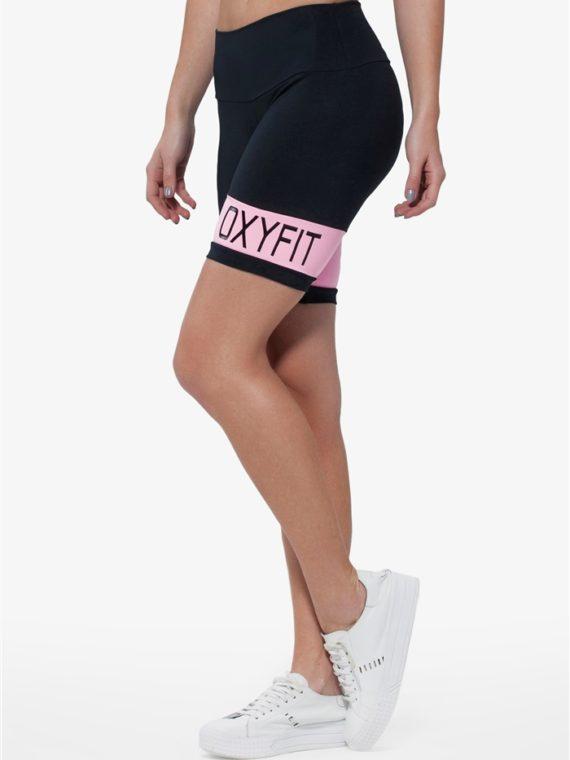 OXYFIT Shorts 21215 Palm Beach- Sexy Workout Shorts-Yoga Shorts Bubblegum Pink