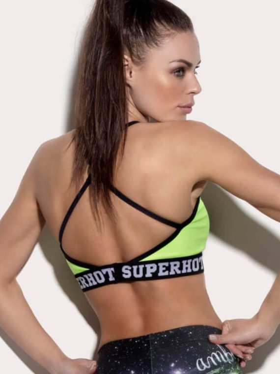 SUPERHOT Bra TOP1187 SEXY Workout Tops Cute YOGA Sport Bra