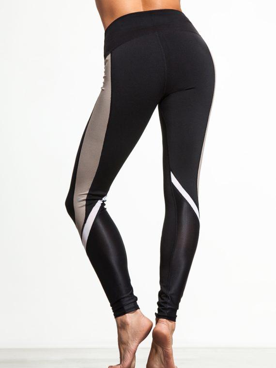 ALO Yoga Elevate Leggings Sexy Yoga Pants - Black Gravel