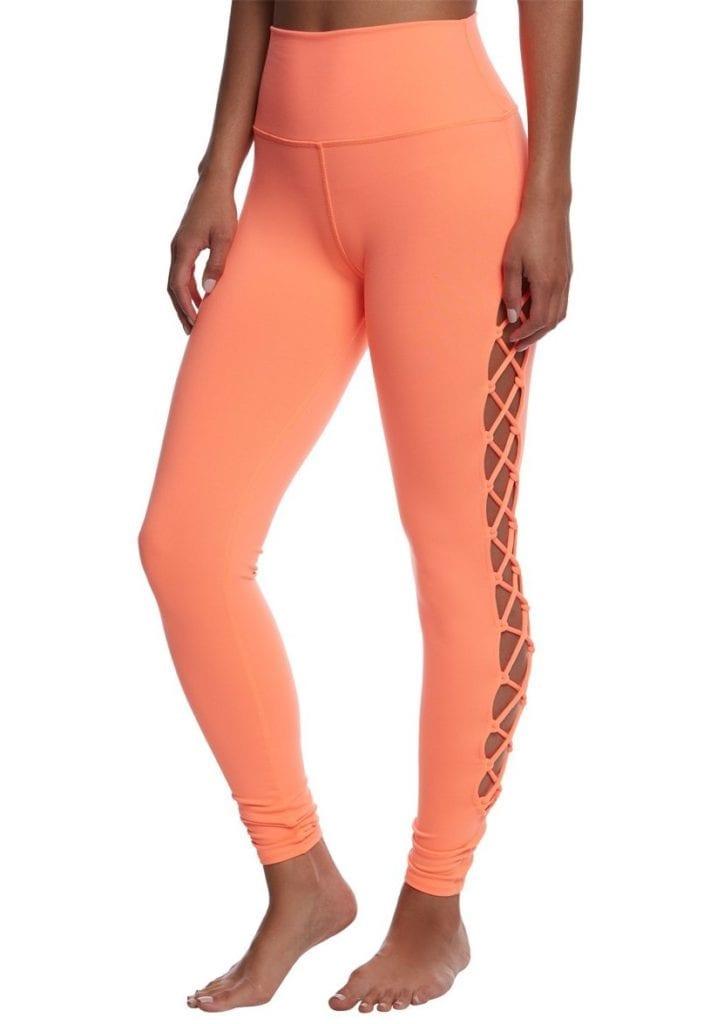 82a0c3b350 ALO Yoga Interlace Leggings Sexy Yoga Pants - Starburst - Superhot ...