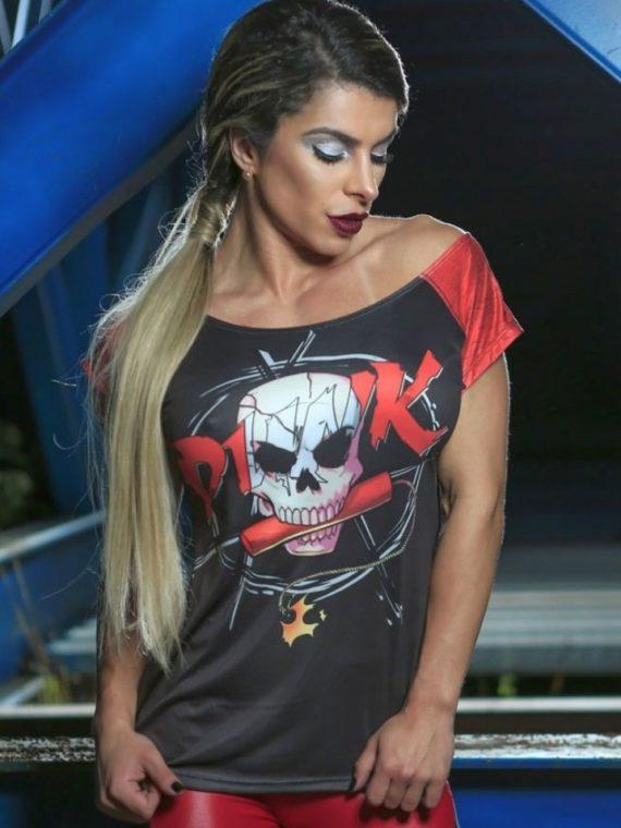 DYNAMITE Brazil Punk Blouse BL288-Sexy Workout Tops