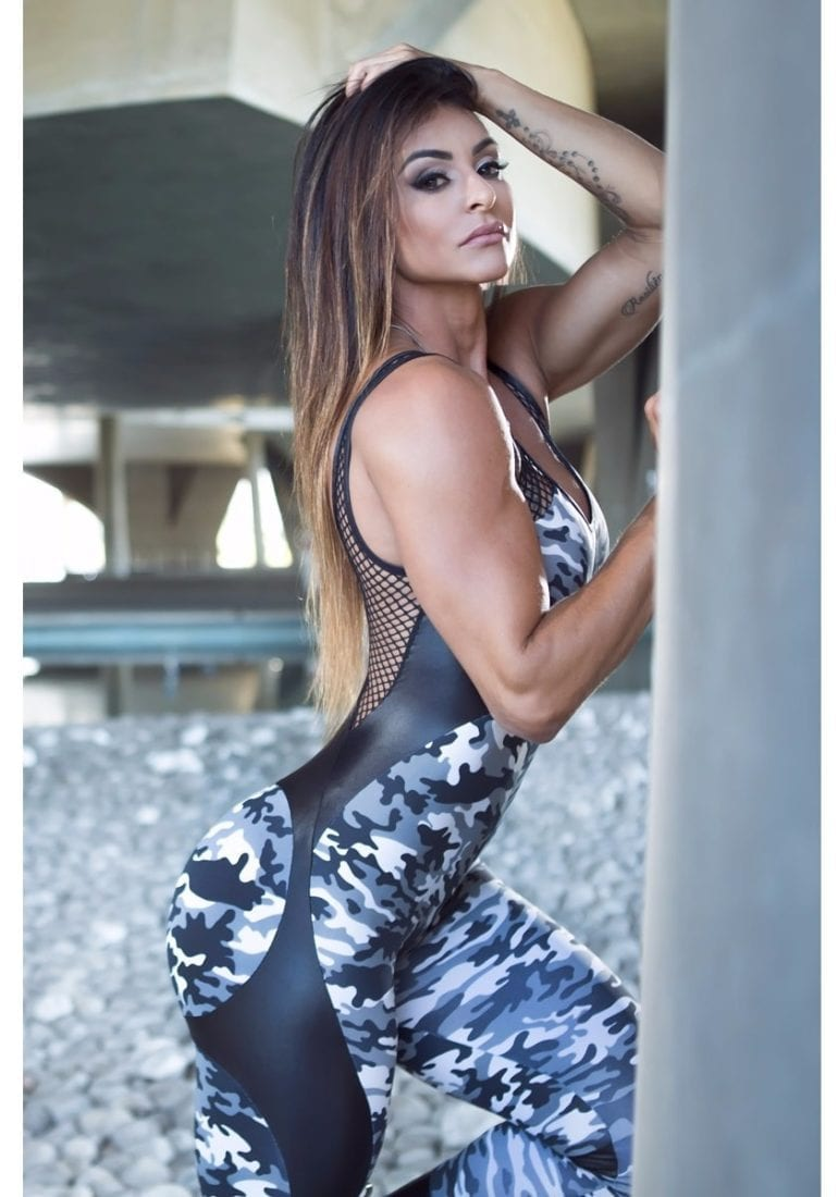 DYNAMITE Jumpsuit Macacao ML2094 Apple Booty Camo – Sexy One-Piece Romper
