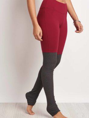 ALO Yoga Goddess Legging  Sexy Yoga Leggings Red Velvet Heather