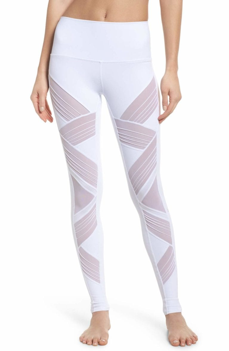 d3d6559c29b5e5 ALO Yoga Ultimate High Waist Leggings - Sexy Yoga Pants White
