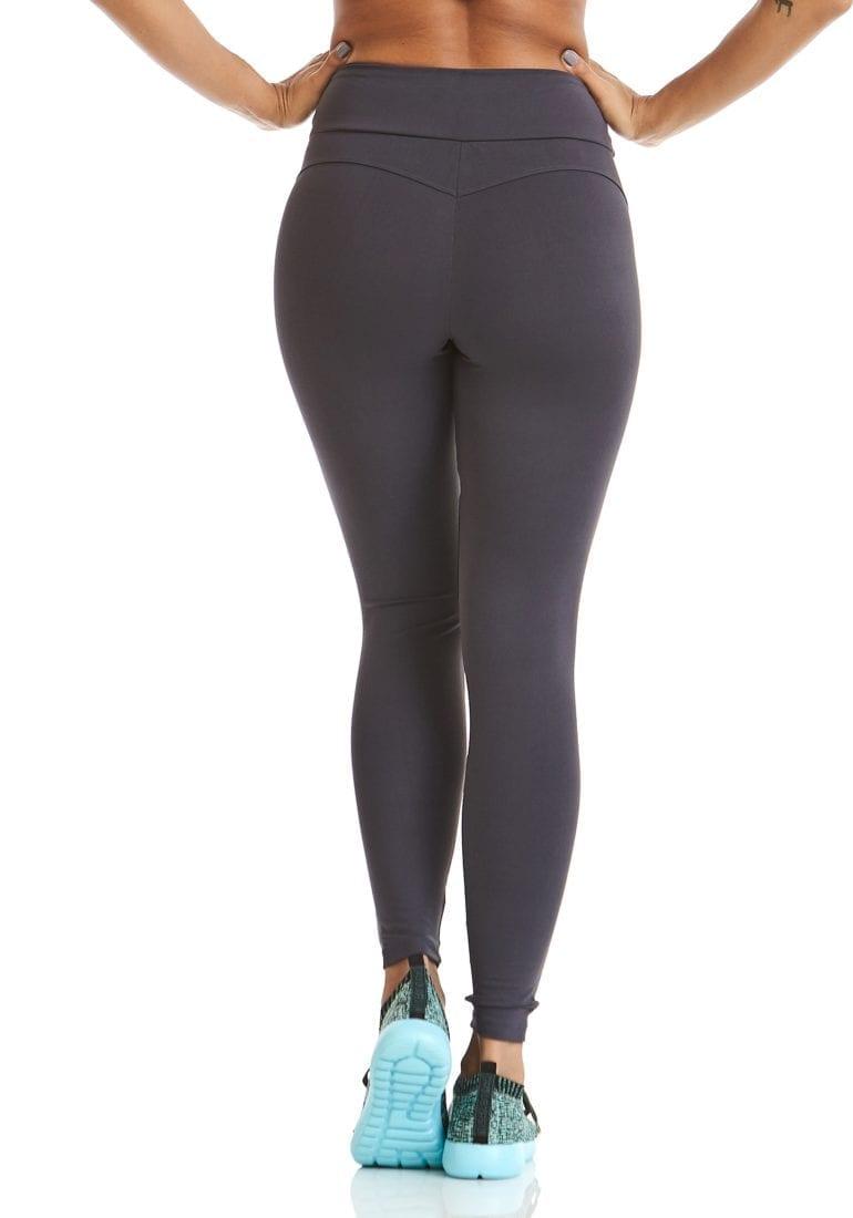 57023128e40e CAJUBRASIL Leggings 9622 Charcoal- Sexy Workout Clothes-Brazilian ...