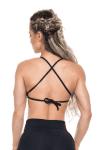 BOMBSHELL BRAZIL Sports Bra HOT GIRL - Black -Sexy Workout Top