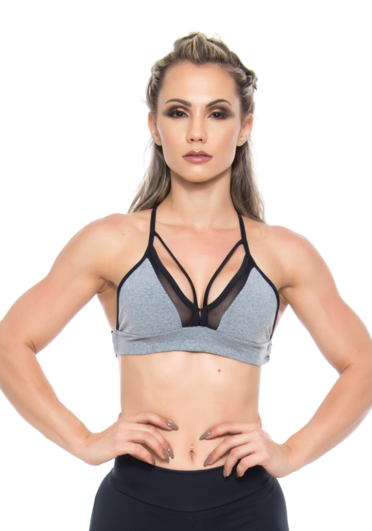 BOMBSHELL BRAZIL Sports Bra HOT GIRL - Jersey -Sexy Workout Top
