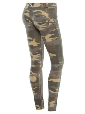 FREDDY WR.UP Shaping - Camouflage Pattern Cotton -Shaping Effect - Low Waist - Skinny - light