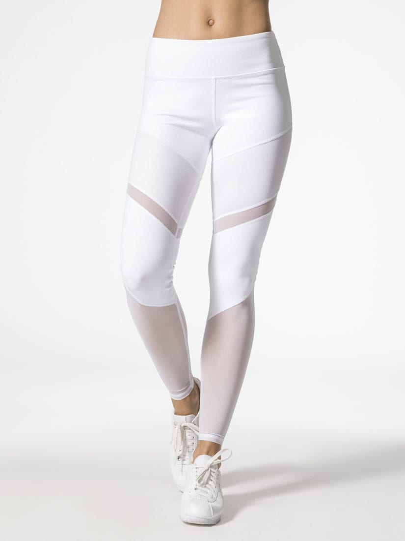 fa84b7ebd4311e ALO Yoga Sheila Leggings High Waisted Sexy Yoga Pants - Pilates Leggings  White
