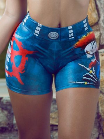 DYNAMITE BRAZIL Shorts SH400 Shorts Jeans Punk