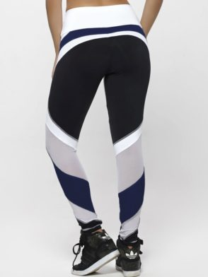 OXYFIT Leggings WOD 64129 Navy Black - Sexy Workout Leggings