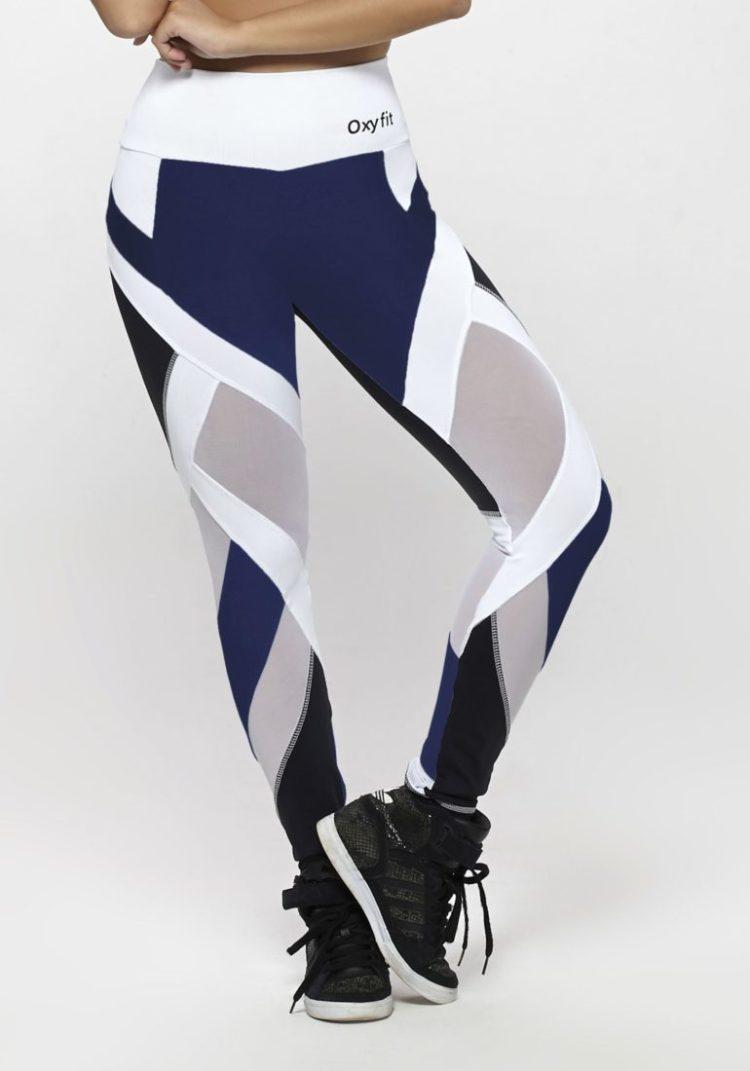 OXYFIT Leggings WOD 64129 Navy Black - Sexy Workout Leggings