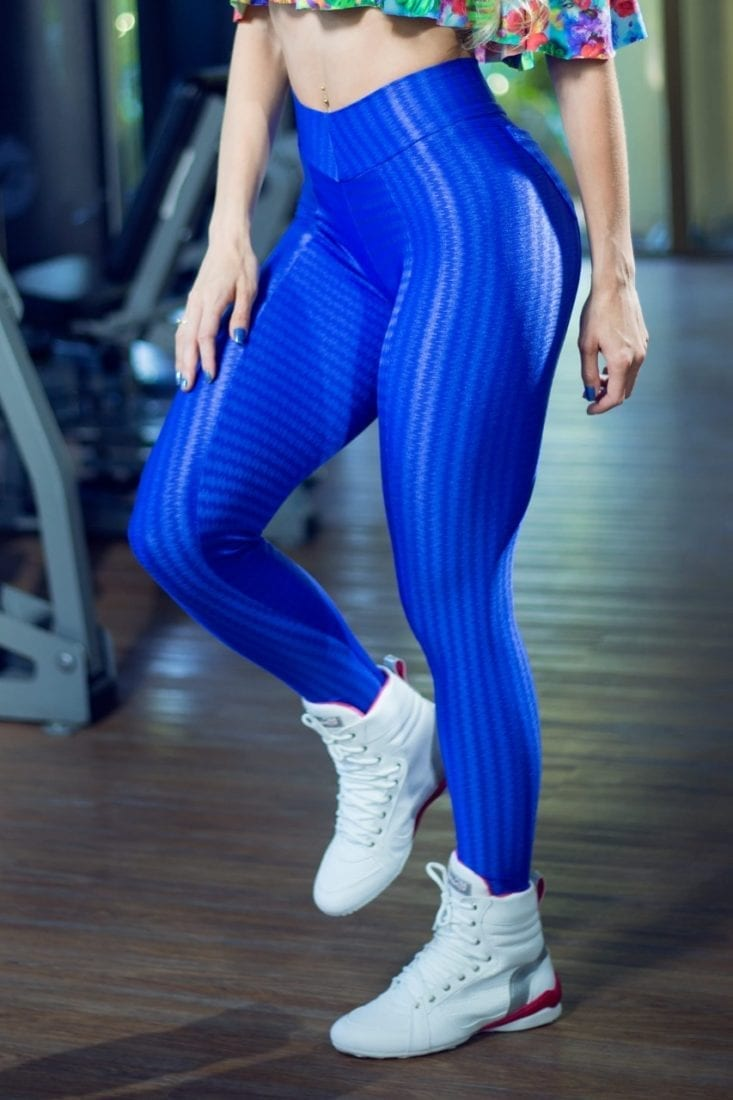 Dynamite Brazil Leggings – Blue Lagoon – Sexy Leggings USA