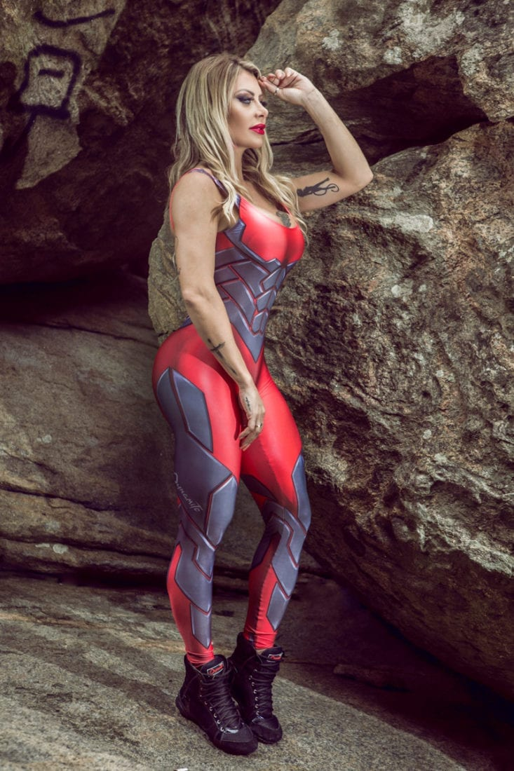 DYNAMITE Jumpsuit Macacao ML2080 Cosmic Legacy One-Piece Romper