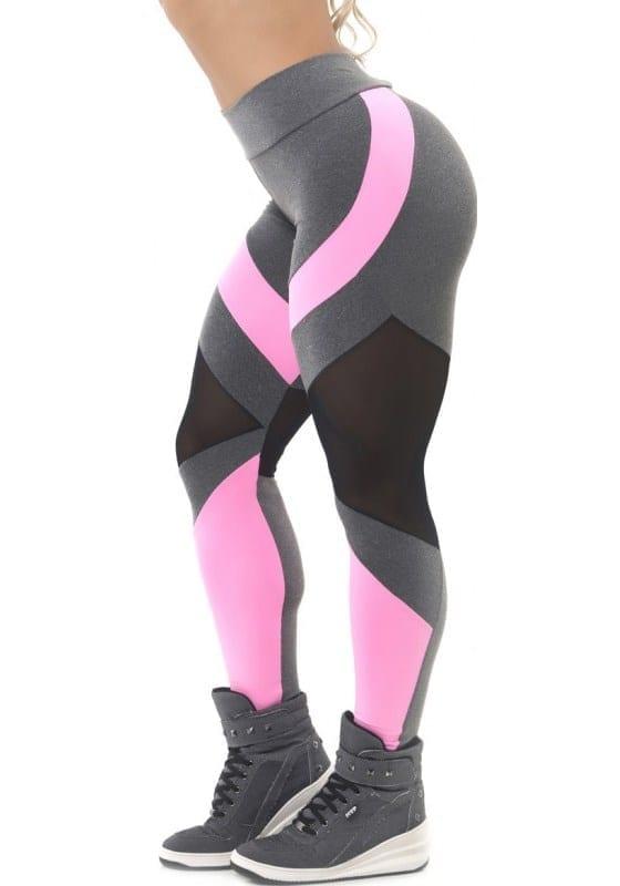 cc7cc254d9dd8 BFB Activewear Leggings Body Power Mescla – black & white – Sexy Leggings