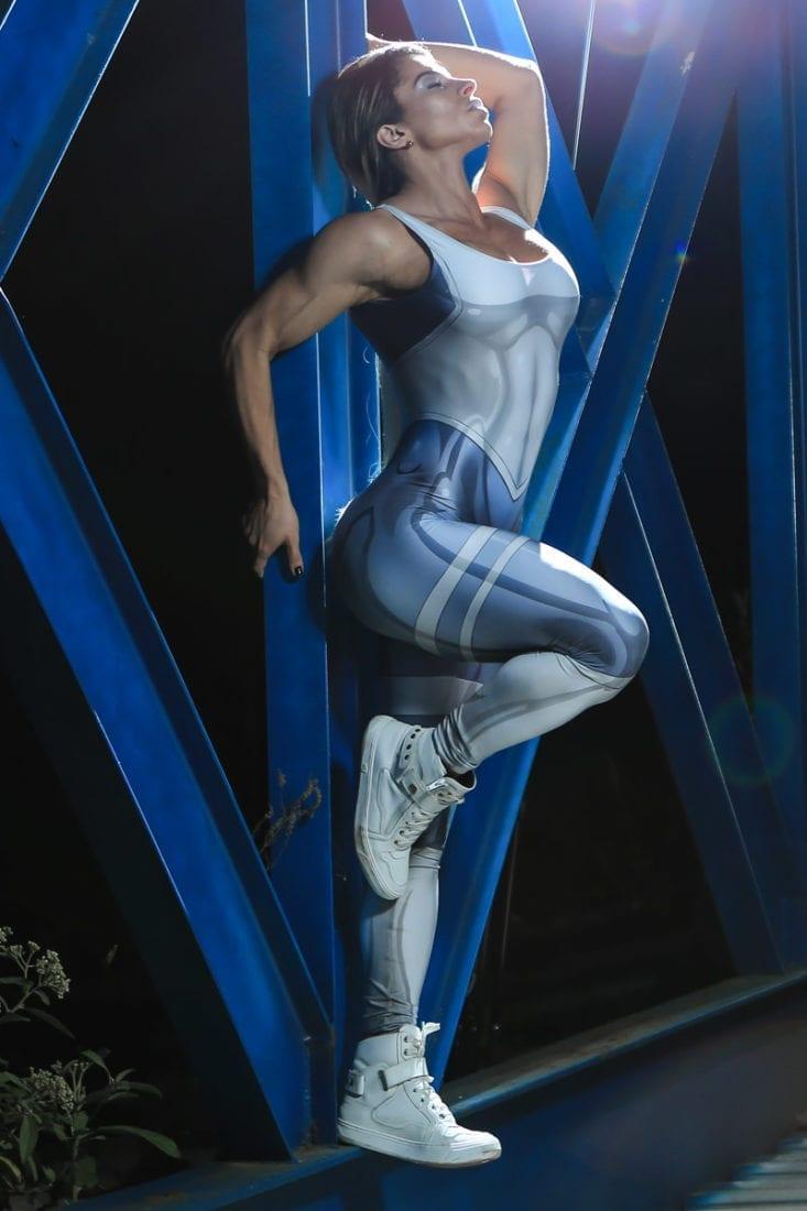 DYNAMITE Jumpsuit Macacao ML2080 – White Mercury