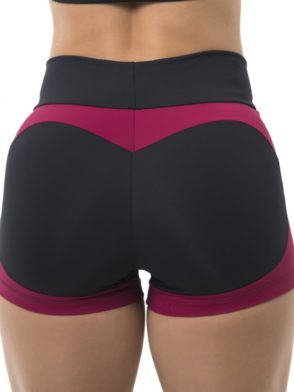 BFB Activewear Shorts FABULOUS APPLE BOOTY Marsala-Sexy Shorts