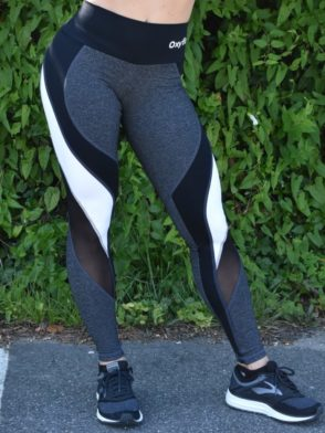 OXYFIT Leggings Reach 64123 Charcoal Heather – Sexy Workout Leggings
