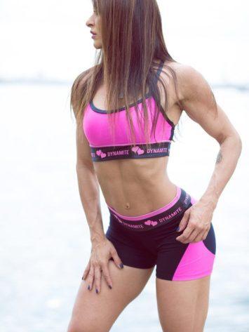 DYNAMITE BRAZIL Shorts SH2094 APPLE BOOTY Lily Love-Sexy Shorts