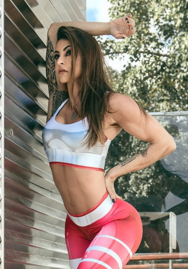 DYNAMITE BRAZIL Sports Bra Top T221 Mercury Red -Sexy Tops